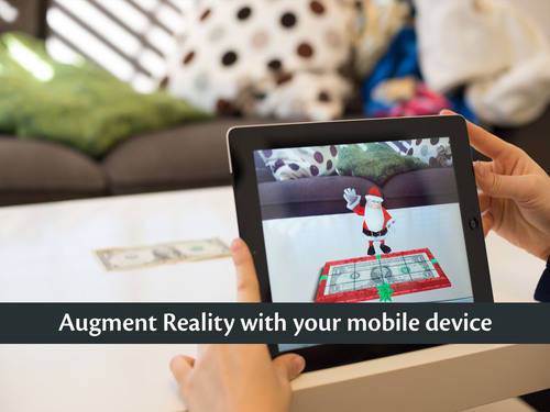 Augment Reality with your mobile device.  (PRNewsFoto/Jerusalem.com)