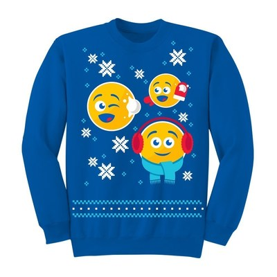 PepsiMoji Holiday collection sweatshirt