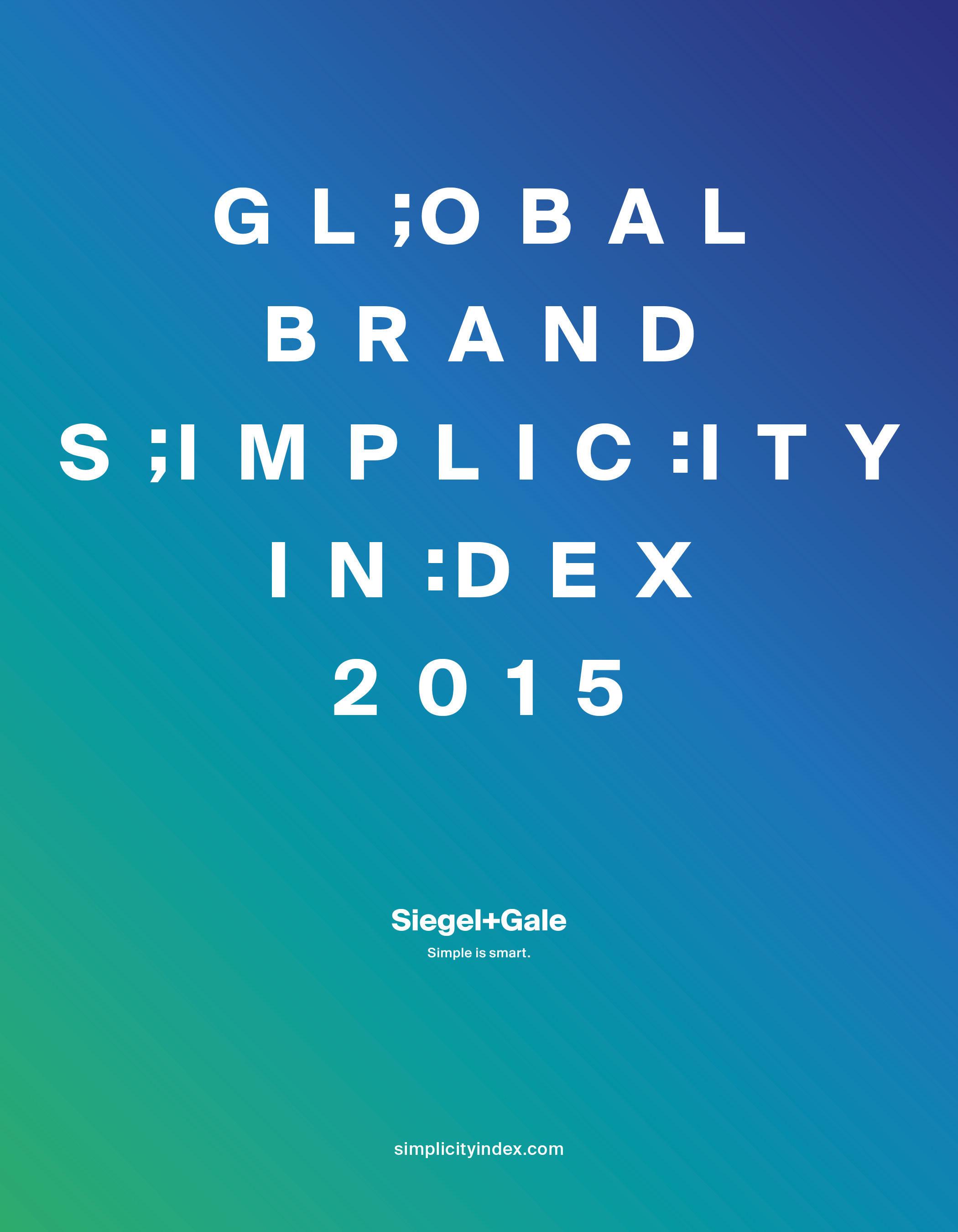Siegel+Gale präsentiert Ergebnisse des sechsten Annual Global Brand Simplicity Index™ und zeigt die