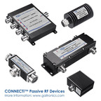Galtronics' CONNECTi™ products include 10 product categories directional couplers; high/low power splitters; jumpers; hybrid couplers; attentuators; termination loads; tappers; diplexers and Brackets. For more info www.galtronics.com