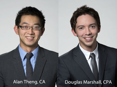 Alan Theng, CA and Douglas Marshall, CPA join The Siegfried Group, LLP (PRNewsFoto/The Siegfried Group, LLP)