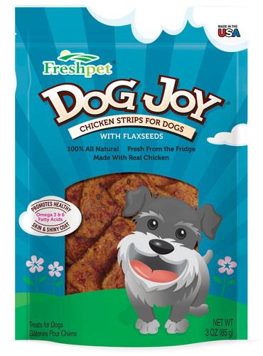 Dog Joy Chicken Strips From Freshpet. (PRNewsFoto/Freshpet) (PRNewsFoto/FRESHPET)