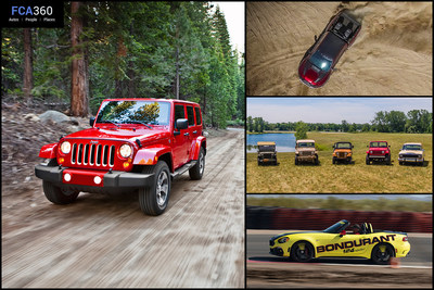 The October edition of FCA360 gets behind the wheel of the Abarth track experience, jumps into the 2017 Jeep Wrangler and reveals the Ram Rebel TRX Concept. Check out http://www.fca360.com for more.