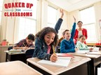 The Quaker Oats Company Teams Up with AdoptAClassroom.org to Help Support Teachers and Classrooms in Need