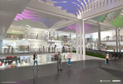 The Largest Shopping Centre in Southwest Finland Hansakortteli to be Renewed - Schauman Architects Ltd and the Design Agency Amerikka Ltd Winners in the Design Competition