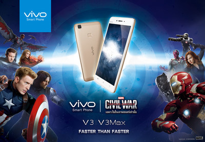 Vivo's V3 and V3Max, used by super heroes Iron Man and Captain America in Captain America: Civil War, feature a simple design and premium hardware quality