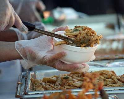 Piccadilly Emergency Services food being served in a disaster area. The Piccadilly Emergency Service team is dedicated to providing quality, hot, and wholesome meals to those in need.