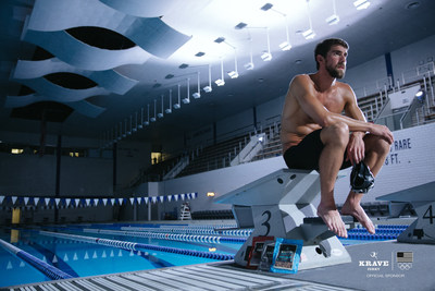 Michael Phelps and KRAVE jerky