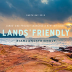 Happy Earth Day! We are proud to say #IAmLandsFriendly today and every day. By the end of 2015, expanding our partnership  with the National Forest Foundation, we will have planted our 1,000,000th tree! Post your Earth Day pic and tag it #IAmLandsFriendly for your chance to win a tree planting kit of your own!