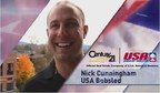 Nick Cunningham, a Sergeant in the New York National Guard and two-time Olympian, will be piloting the CENTURY 21 Real Estate brand's two-man bobsled during the entire 2014-2015 World Cup season.