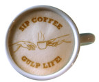 Ripples combines hardware and software to deliver any image of message onto lattes, cappuccinos, or any foam-topped drink.   www.coffeeripples.com