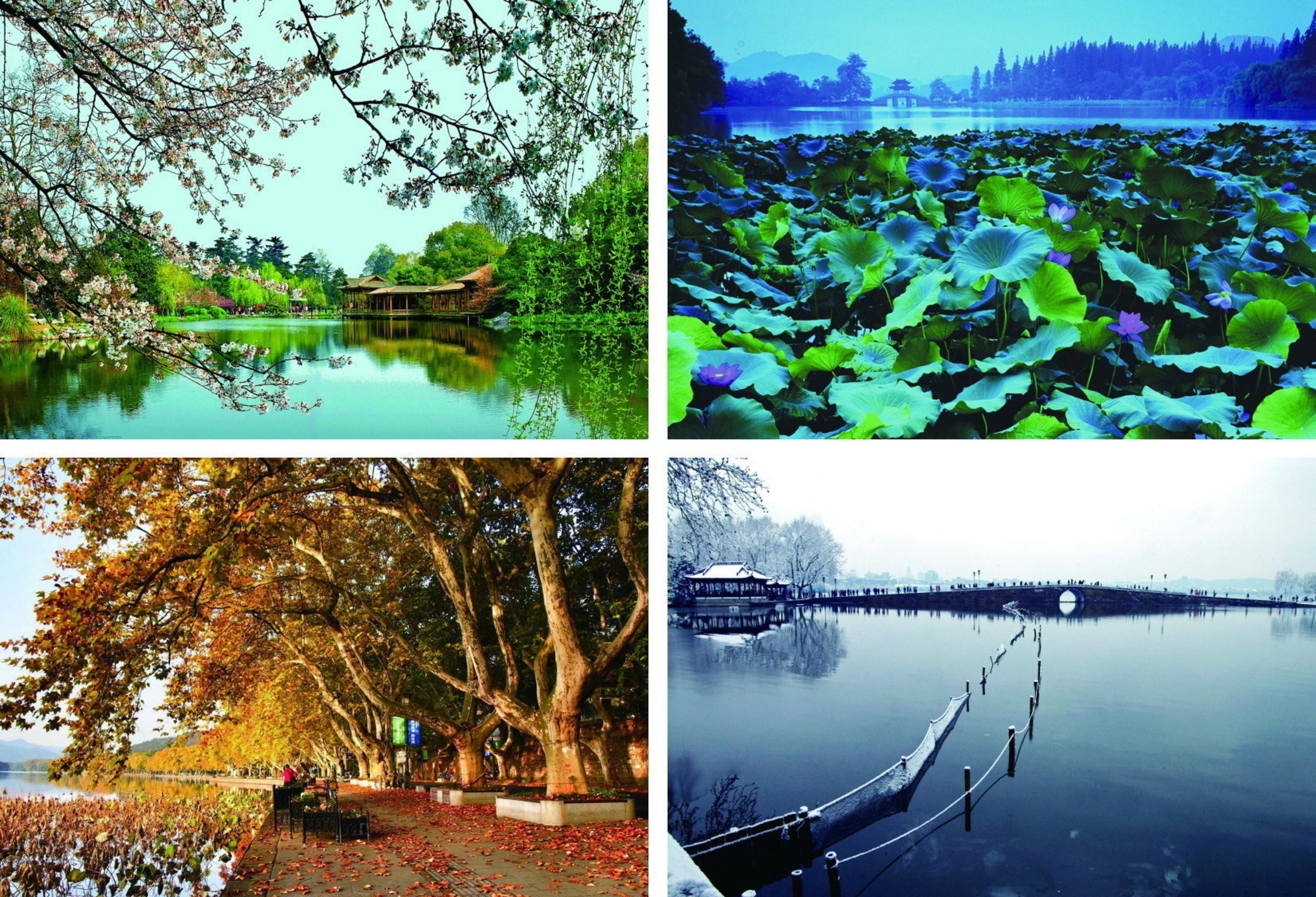 Desetileté zelené projekty činí Zhejiang krásnějším