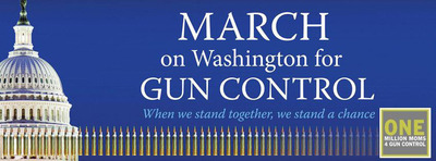 The March on Washington for Gun Control is scheduled for Saturday, Jan. 26, a citizen-activist-led silent procession along the Mall to honor gun-violence victims and support stricter gun regulations. Organized by Arena Stage's artistic director, Molly Smith, and Suzanne Blue Star Boy, American Indian activist, marchers will gather at 10 a.m. at the Capitol Reflecting Pool on 3rd St. NW by the Museum of the American Indian, then proceed to the Washington Monument for speeches and performances. www.guncontrolmarch.com.  (PRNewsFoto/March on Washington for Gun Control)