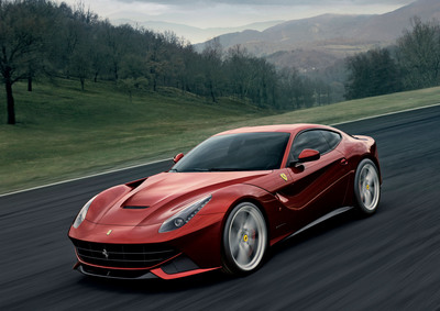 Ferrari F12berlinetta.  (PRNewsFoto/Ferrari North America)