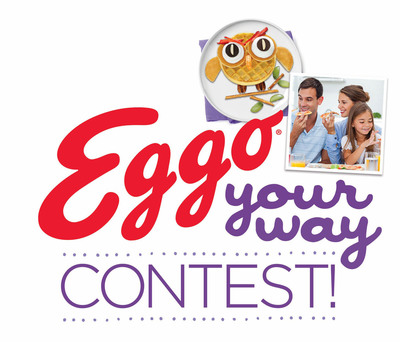 Waffle fans can submit unique recipes into the Eggo Your Way contest for chance to win $10,000 grand prize.  (PRNewsFoto/Kellogg Company)