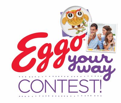 Waffle fans can submit unique recipes into the Eggo Your Way contest for chance to win $10,000 grand prize. (PRNewsFoto/Kellogg Company) (PRNewsFoto/KELLOGG COMPANY)