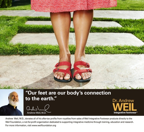 Step into Spring with the Dr. Andrew Weil Integrative Footwear New 'Functional Fashion' Collection
