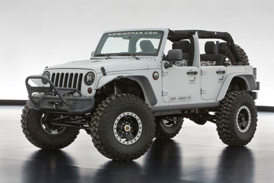 Jeep Wrangler Mopar Recon concept created for the 47th Easter Jeep Safari in Moab, Utah.  (PRNewsFoto/Chrysler Group LLC)