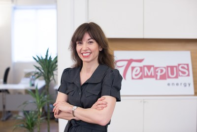 Sara Bell, CEO and founder, Tempus Energy (PRNewsFoto/Tempus Energy)