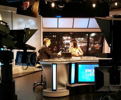Anthony Caruso on PIX TV.  (PRNewsFoto/Scarinci Hollenbeck)