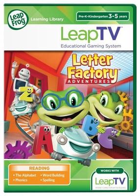 LeapTV: LeapFrog's Letter Factory(TM)