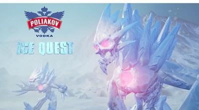 POLIAKOV Vodka - Ice Quest Experience (PRNewsFoto/LA MARTINIQUAISE)