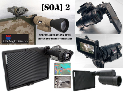 Military-grade optics meet iPhone and iPad via USNV and Special Operations Apps.  (PRNewsFoto/Special Operations Apps)