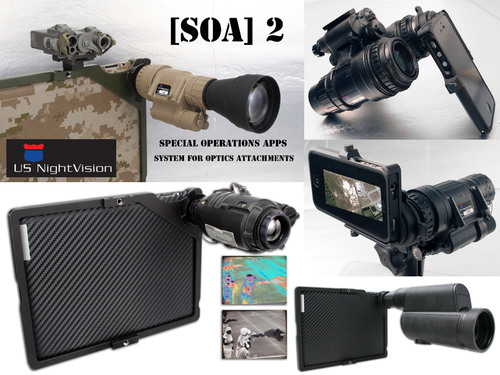 Military-grade optics meet iPhone and iPad via USNV and Special Operations Apps.  (PRNewsFoto/Special ...