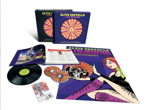 Elvis Costello & the Imposters: The Return Of The Spectacular Spinning Songbook!!! Limited Edition Box Set Released December 6.  (PRNewsFoto/Universal Music Enterprises)