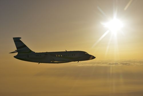 Falcon 2000S receives Indian certification (PRNewsFoto/Dassault Aviation)