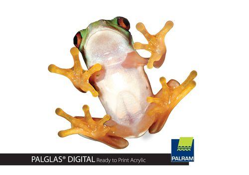 PALGLAS Digital Ready-to-Print Acrylic (PRNewsFoto/Palram Industries)