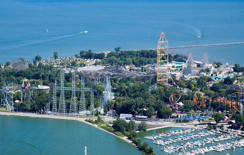 "Cedar Point in Sandusky, Ohio voted ""Best Amusement Park in the World"" in Amusement Today's annual poll.  This is the 16th consecutive year the park has received this prestigious award.  (PRNewsFoto/Cedar Fair Entertainment Company)"
