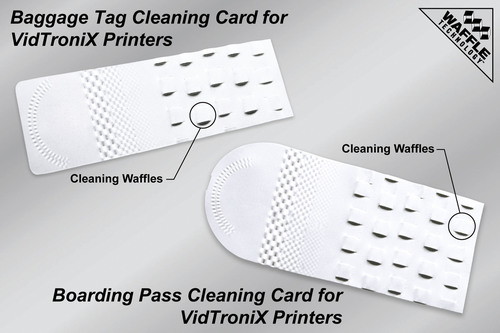 VidTroniX Offers Effective Cleaning Products to Keep Boarding Passes Accurate and Reduce Lost
