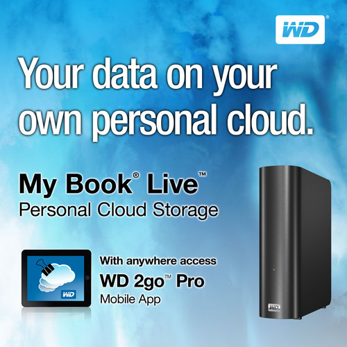 WD(r) DELIVERS THE PERSONAL CLOUD.  (PRNewsFoto/Western Digital Technologies)