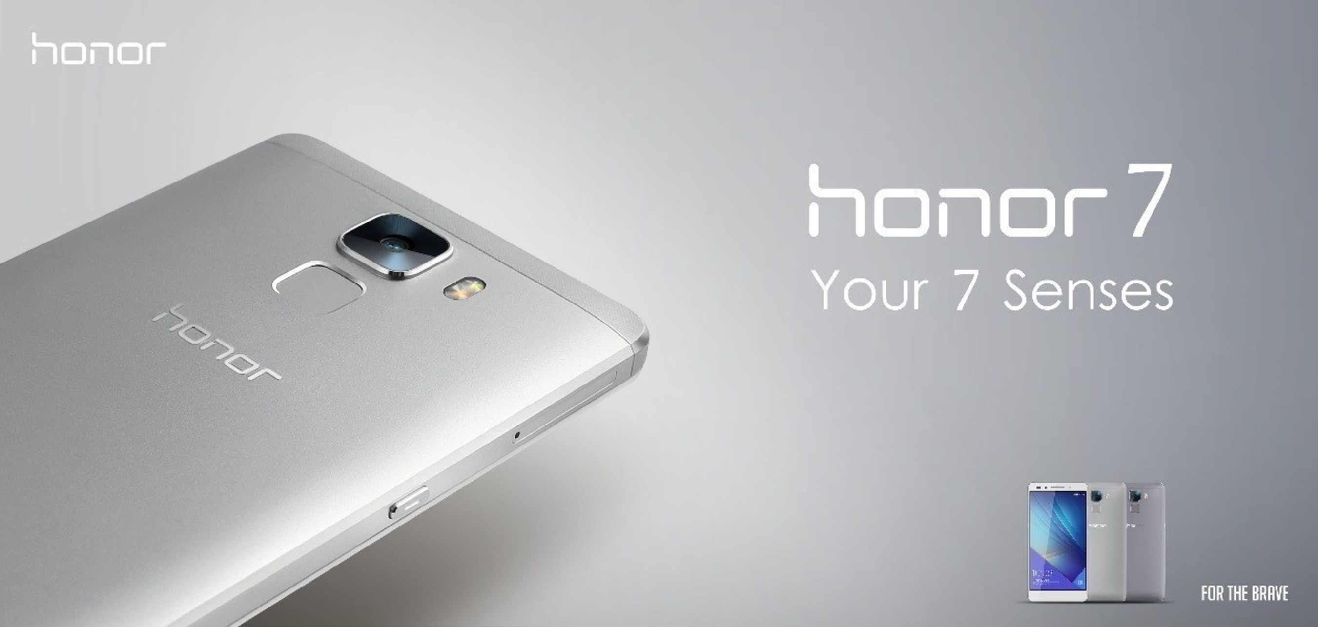 honor 7 ofrece funciones inteligentes y estilo a nativos digitales en Europa