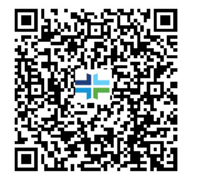 Scan QRcode with your smart phone to download hospital apps.