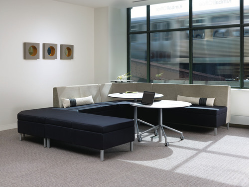 Kimball(R) Office Introduces a New, People-Centric Lounge Series