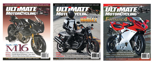 Ultimate MotorCycling Hits the (#1) Spot!