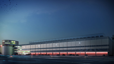 Equinix Paris 4 (PA4) data center.  (PRNewsFoto/Equinix, Inc.)