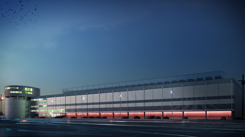 Equinix Paris 4 (PA4) data center.  (PRNewsFoto/Equinix, Inc.)