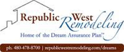 Phoenix Home Remodeling Company, Republic West Remodeling, Releases Report on Remodeling Ideas To Help Home Values Skyrocket.  (PRNewsFoto/Republic West Remodeling Inc.)
