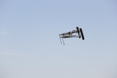 Insitu's new Flying Launch and Recovery System launches ScanEagle from the air and captures without ground equipment