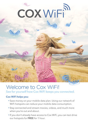 Fans, tourists and Phoenix residents will have access to free, unlimited Cox WiFi during Super Bowl week