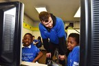 BBVA Compass delivers high-tech tools, NBA stars to Rusk School to promote financial education