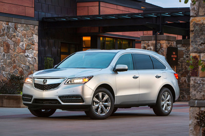 Acura MDX and RDX Win U.S. News & World Report 2014 Best Cars for the Money Awards.  (PRNewsFoto/Acura)