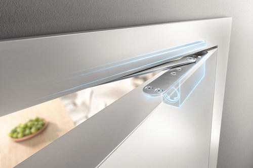 GEZE ActiveStop Door Damper recognized for its innovative mechanism, and was awarded silver in the ...
