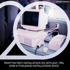 From the first installation on 30th July 1996, over a thousand installations since.
