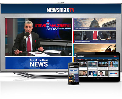 Newsmax Media taps Float Left Interactive for TV Everywhere apps. (PRNewsFoto/Float Left Interactive)