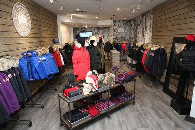 Canada Goose opens its first-ever pop-up shop at the 2016 Sundance Film Festival.