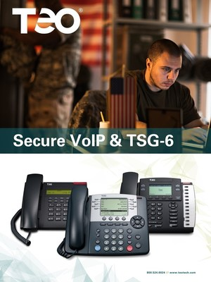 Teo offers AS-SIP and JITC approved endpoints for secure communications.